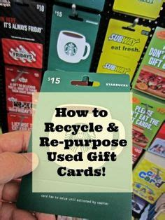 Recycle Gift Cards - 1000 images about recycle those plastic cards on pinterest credit cards gift cards