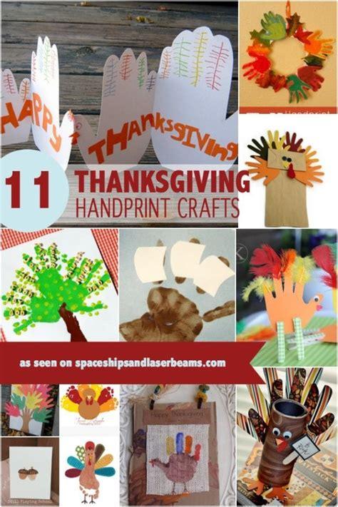 thanksgiving handprint  footprint crafts  boys