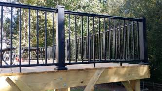 deck railings redi rail afco rail aluminum stair railing systems