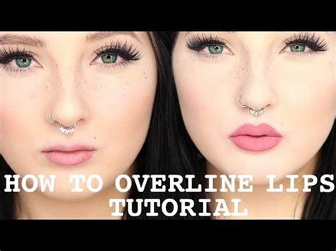 youtube tutorial kylie jenner lips overline lips tutorial kylie jenner lips jordan hanz