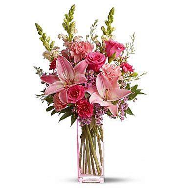 Starry Pink Bouquet Graduation Paper Flower pink paradise bouquet flower bouquets liles roses and