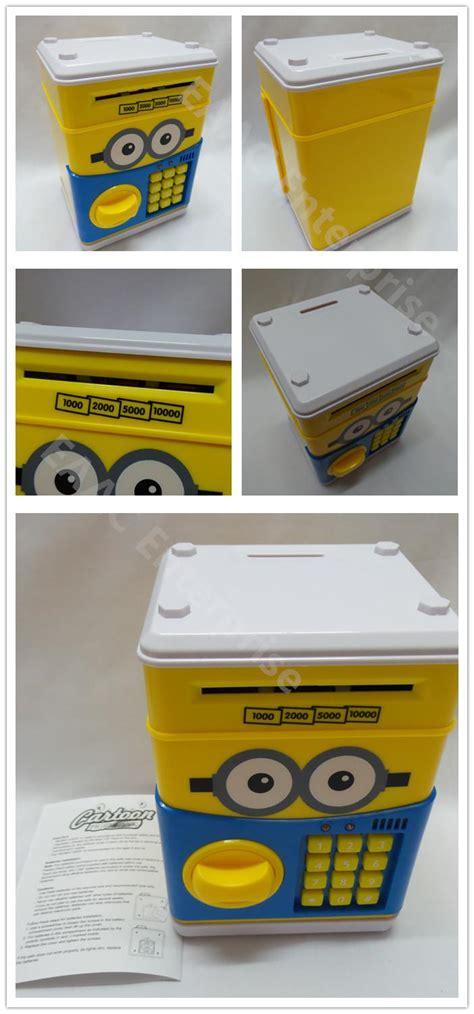 Saving Box Bank Minion minions money saving box coin bank s end 7 22 2018 1 15 pm