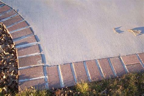 decorative concrete concrete driveways and bricks on pinterest