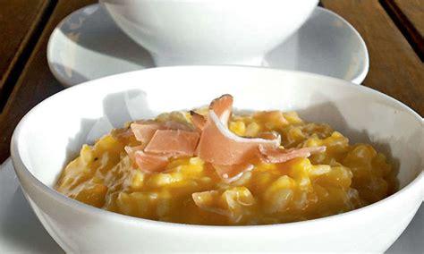 ricette zucca mantovana risotto con zucca mantovana e speck kenwood club