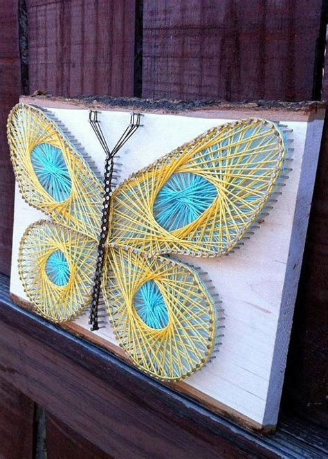 String Butterfly - butterfly string string design
