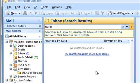 Searching Outlook Email Tidak Bisa Searching Email Di Outlook Seputar Tekhnologi