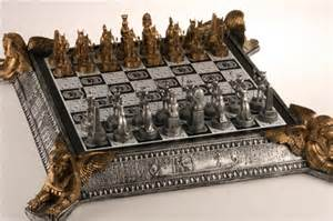 chess sets for sale garage sale item gold and silver chess set