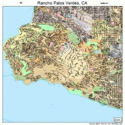 rancho palos verdes california map 0659514