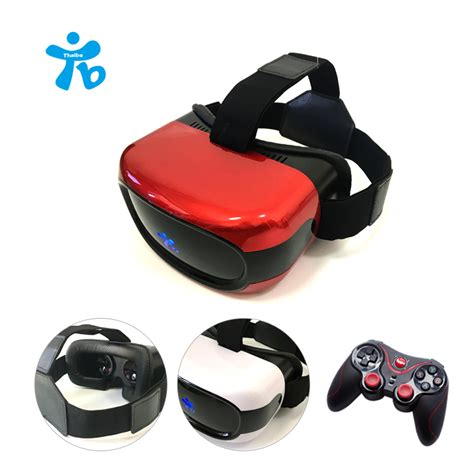 Vr 6th All In 1 Reality 3d Glasses W Blue Limited thaiba 3d vr with screen vr headset all in one reality glasses 3d helmet glasses
