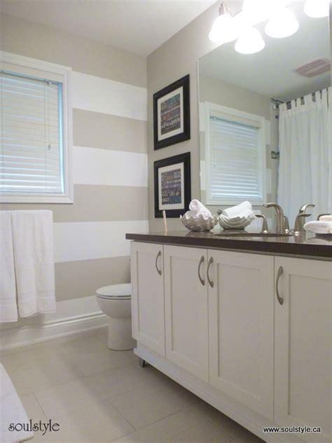 stripes in bathroom bathroom redue on pinterest paint bathroom cabinets