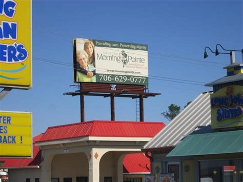 billboard for sale in calhoun ga calhoun poster in front