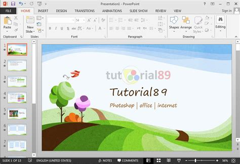 249 Template Presentasi Powerpoint Gratis Tutorial89 Template Powerpoint Keren