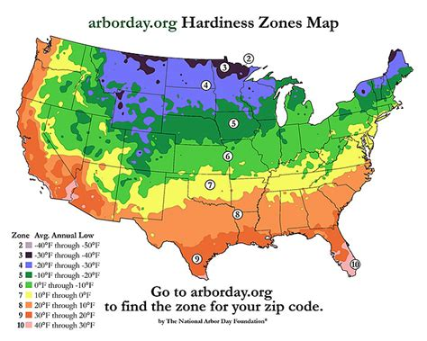 zone map for gardening united states hardiness map zones