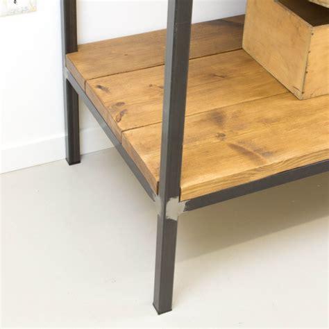 muebles de madera y hierro mueble auxiliar de cocina de hierro y madera auxiliar