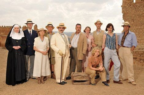 0008164959 appointment with death poirot david suchet as poirot with the cast of appointment with