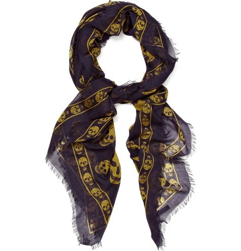 mcqueen scarves for mens accessories