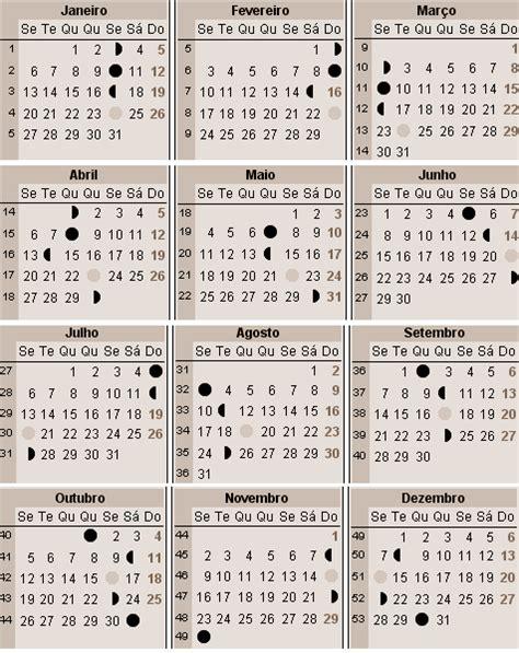 almanaque lunar 2016 calendario lunar 2016 brasil calendario calendario 2016
