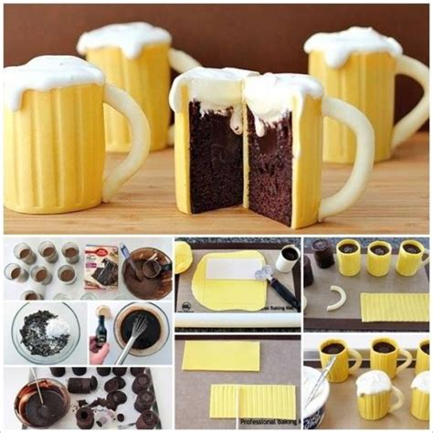 Sheep Home Decor by Cake Decorating Class How To Make Diy Beer Mug Cupcakes