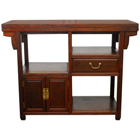 Chinese Rosewood Buffet Serving Table For Sale At 1stdibs Asian Buffet Table