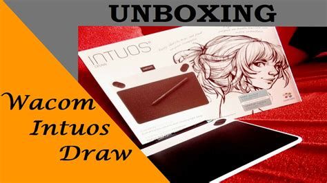 Wacom Intuos Draw Ctl490 Free Softcase And Antigores unboxing wacom intuos draw ctl490