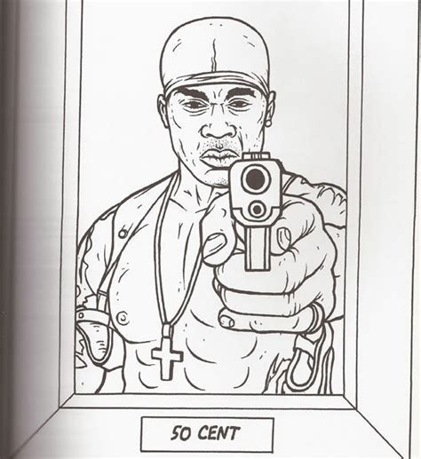 the gangsta rap coloring book - Coloring Books Hip Hop Gangsta Rap ...