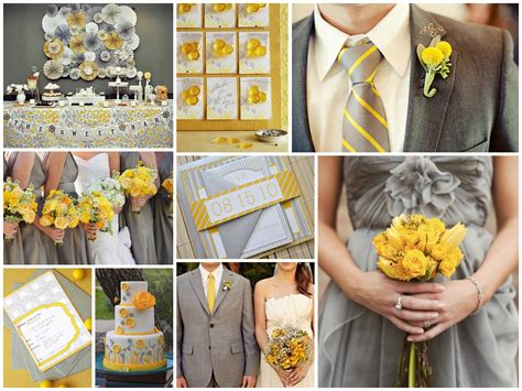 grey and yellow sunshine yellow and grey thebridesmaidandthebride