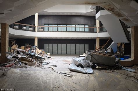haunting photos of a deserted mall that is now covered in inside abandoned malls that were once beacon of american