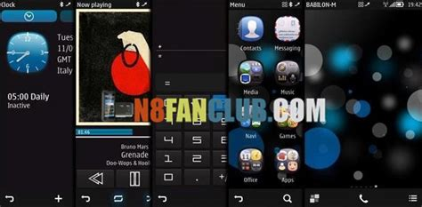 out of focus a theme for symbian belle apk mania premium themes pack nokia n8 belle download