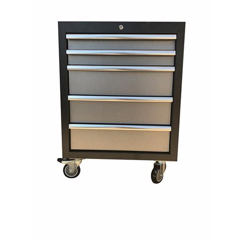 Roller Drawers For Kitchen Cabinets by 5 Drawer Roller Cabinet With Casters