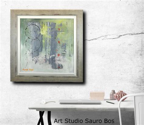 cornice moderna quadro astratto con cornice moderna chiarista sauro bos