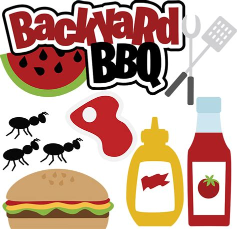 Word For Backyard Backyard Bbq Svg Files For Scrapbooking Cardmaking Bbq Svg