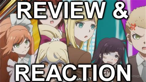 danganronpa anime reaction danganronpa 3 despair side episode 1 review and reaction