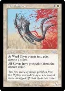 mtg protection from color ward sliver legions regular singles magic the
