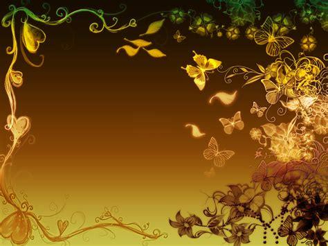 butterfly flowers aesthetic powerpoint templates flowers butterflies border backgrounds presnetation ppt