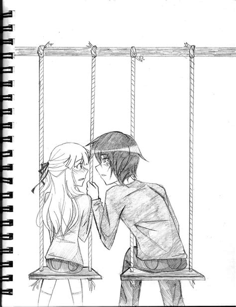 draw a swing swing set by bluupanda on deviantart