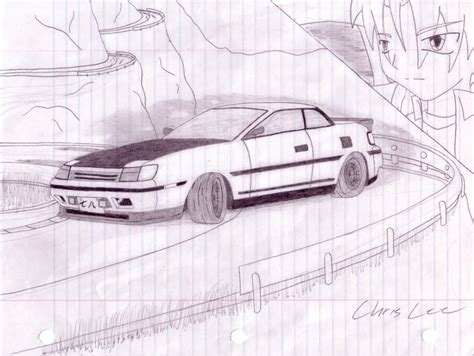 drift cars drawings more car sketch in drift mode by christopherlee