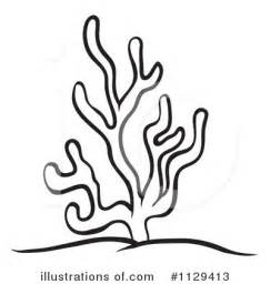 coral reef clipart black and white coral clipart 1129413 illustration by graphics rf