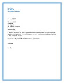 Consent Letter Format For Use Property 10 best authorization letter samples and formats