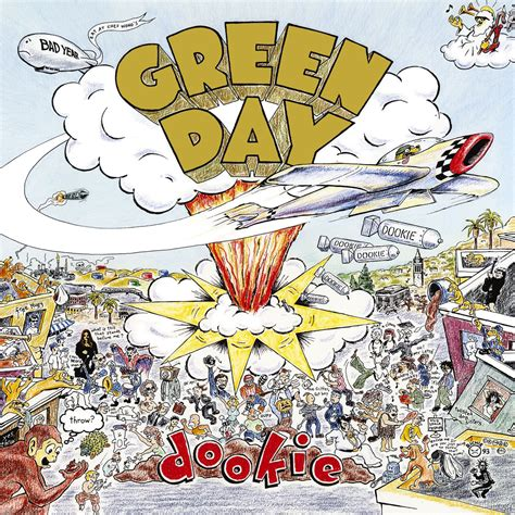 Original Album Cover Totes By Rock Musick by Green Day Dookie