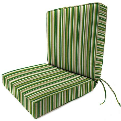 home decorators outdoor cushions home decorators collection sunbrella catalina cilantro outdoor dining chair cushion 9198420940