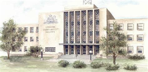 Lebanon County Records Lebanon County Individual County Courts Pennsylvania Courts Of Common Pleas