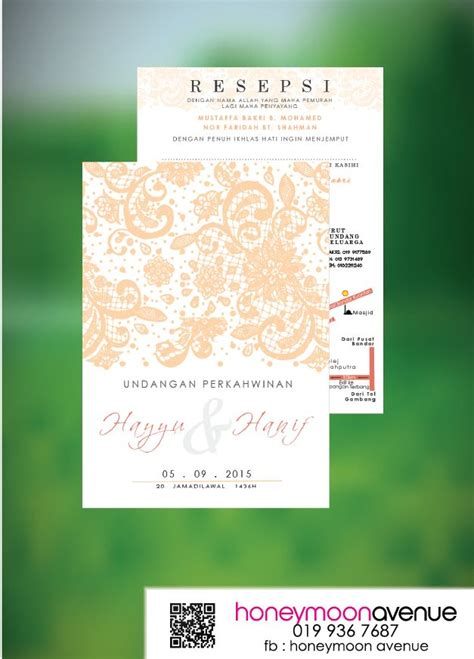 design kad kahwin instagram lace wedding card kad kahwin kad kahwin online design