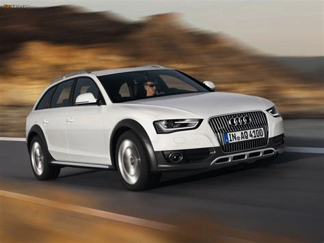 Pictures Audi A4 by Pictures Of Audi A4 Allroad 2 0 Tdi Quattro B8 8k 2012