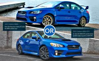Subaru Wrx Vs Subaru S Sibling Rivalry Subaru Wrx Sibling Rivalry