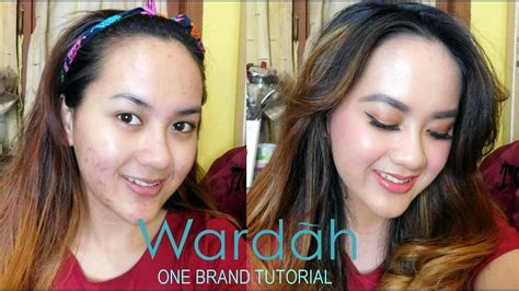 tutorial makeup alifah ratu quot wardah quot one brand tutorial tips makeup cover jerawat