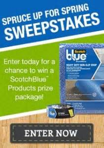 Diy Sweepstakes Entry - 3m diy sweepstakes enter to win scotchblue products
