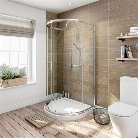 Large D Shaped Shower Enclosure by 6mm D Shaped Shower Enclosure Tray Victoriaplum