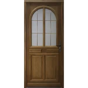 porte entree bois vitree porte d entr 233 e vitr 233 e marsala en bois tous les produits