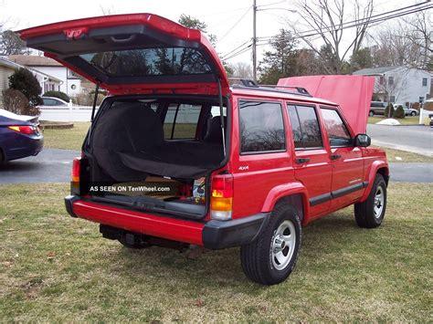 cherokee jeep 2001 2001 jeep cherokee sport