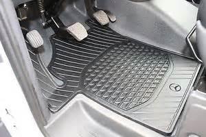 genuine mercedes rubber floor mats vito viano 639 bm